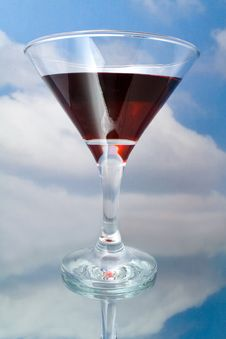 Free Red Wine In Glass Stock Photography - 15167182