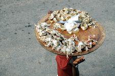 Free Crab Meat Street Seller Stock Photos - 15167373