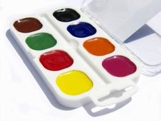 Free Paint Box Royalty Free Stock Photos - 15167858