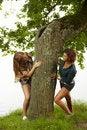 Free Girls Having Fun Royalty Free Stock Photography - 15173747
