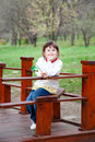 Free Little Girl In The Park Royalty Free Stock Images - 15175779