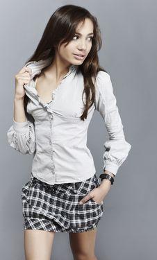 Free Sensual Girl In Fashion Dress, Studio Shot Stock Photography - 15170712