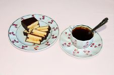 Free Coffee And Cake Stock Photography - 15171302