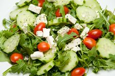 Delicious Fresh Salad Royalty Free Stock Images