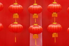 Free Red Lantern Royalty Free Stock Photography - 15171997
