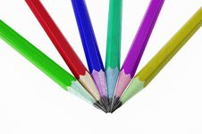 Free Colour Pencil Royalty Free Stock Photography - 15172127