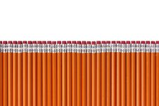 Free Pen With Erasers Stock Images - 15172134
