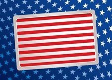 Free American Inspired Background Royalty Free Stock Photography - 15172227