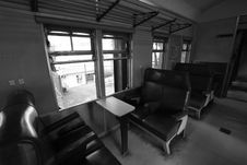 Free Old Train Interior Stock Photography - 15172642