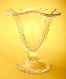 Free Empty Wine Glass Royalty Free Stock Photos - 15172938