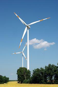 Free Wind Turbine Stock Images - 15173624