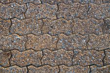 Free Stone Pavement Royalty Free Stock Photography - 15173987