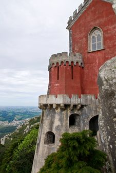 Free Pena National Palace In Sintra Royalty Free Stock Photography - 15173997