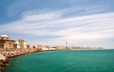 Free Mediterranean City. Cádiz. Spain. Stock Photography - 15174392