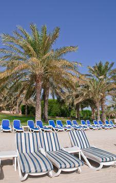 Free Beachside Seats Stock Image - 15174761