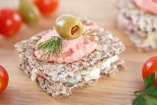 Free Small Sandwich Royalty Free Stock Photography - 15175067