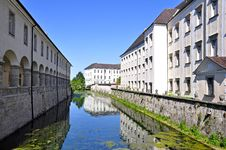 Free Moat Of Kremsmünster Abbey, Upper Austria Royalty Free Stock Photography - 15175667