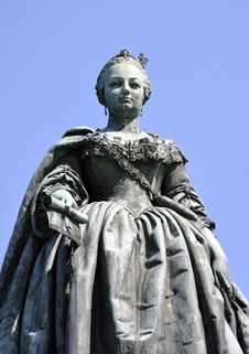 Free Empress Maria Theresia Monument In Wiener Neustadt Royalty Free Stock Photography - 15175717