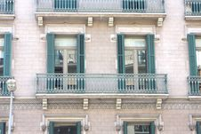 Free Windows And Balconies Royalty Free Stock Image - 15175756