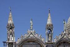 Free St Marks Basilica, Facade Detail, Venice, Veneto Stock Photo - 15175950