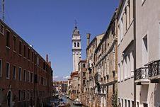 Free Venice, Church S. Giorgio Dei Greci, Italy Royalty Free Stock Photos - 15176028