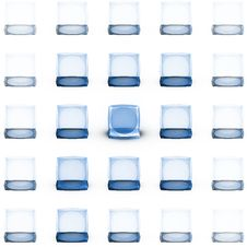 Free Cubed Royalty Free Stock Photos - 15176438
