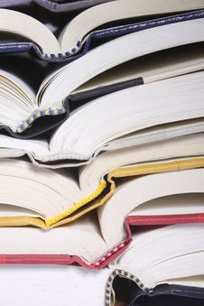 Free Open Book Stack Royalty Free Stock Photo - 15176535