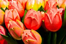 Free Tulips Made Of Wood Stock Image - 15176581