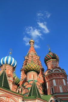 Free St. Basil S Cathedral Stock Photography - 15176652