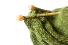 Free Thread And Knitting Needle Stock Images - 15176684