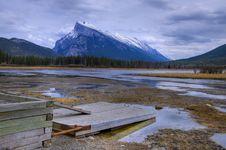 Free HDR Mountain Lake Royalty Free Stock Photos - 15177188