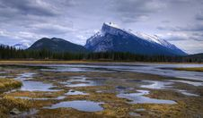 Free HDR Vermilion Lakes Royalty Free Stock Photo - 15178025