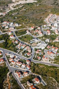 Free Aerial View Of Residential Area Royalty Free Stock Images - 15178409