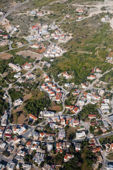 Free Aerial View Of Residential Area Royalty Free Stock Image - 15178486