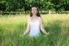 Free Yoga Style Royalty Free Stock Image - 15179036