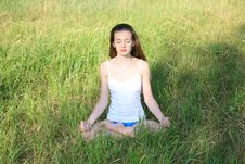 Free Yoga Style Royalty Free Stock Images - 15179049
