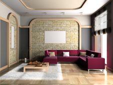 Free Living Room Royalty Free Stock Photo - 15179145