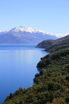 Free Lake View, New Zealand Royalty Free Stock Photos - 15179338