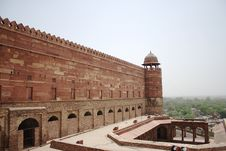 Free Fort Wall At Fatehpur Sikri Royalty Free Stock Image - 15179516