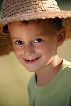 Free Little Boy Smiling Stock Photos - 15179573
