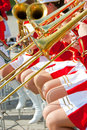 Free Girl Brass Band Royalty Free Stock Images - 15180629