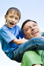 Free Happy Father With His Son Royalty Free Stock Photos - 15182928