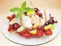 Free Fruit Salad Summer Dessert Royalty Free Stock Photo - 15185895