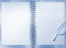Free Notebook Royalty Free Stock Photography - 15180157
