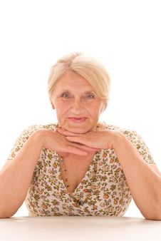 Free Beautiful Older Woman Royalty Free Stock Photography - 15181157