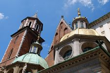 Free Cathedral At Wawel Hill In Cracow Royalty Free Stock Images - 15181579