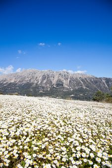 Mountains On Lefkada Island Stock Photo