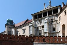 Free Royal Wawel Castle In Cracow Stock Photos - 15181993