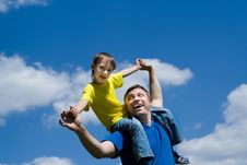 Free Happy Father With His Son Stock Images - 15182314