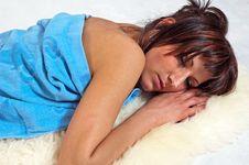Free Girl Sleeping Stock Photos - 15182633